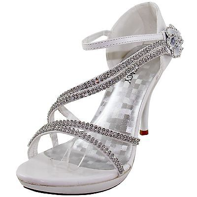 New women's shoes evening rhinestones high heel stilettos fo