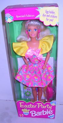 #2345 NRFB Mattel Supermarket Drug Store Easter Party Barbie Special Edition - Party Supermarket