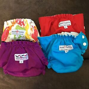 Applecheeks Size 1 cloth diapers