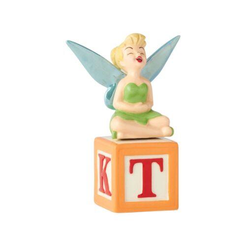 Tinker Bell Ceramic Walt Disney Salt and Pepper Set Enesco New