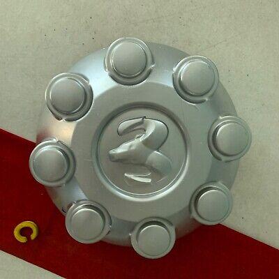 #C (1) 2003-13 DODGE RAM 2500 3500 OEM silver CENTER CAP 52121450AD OXY18PAKAA