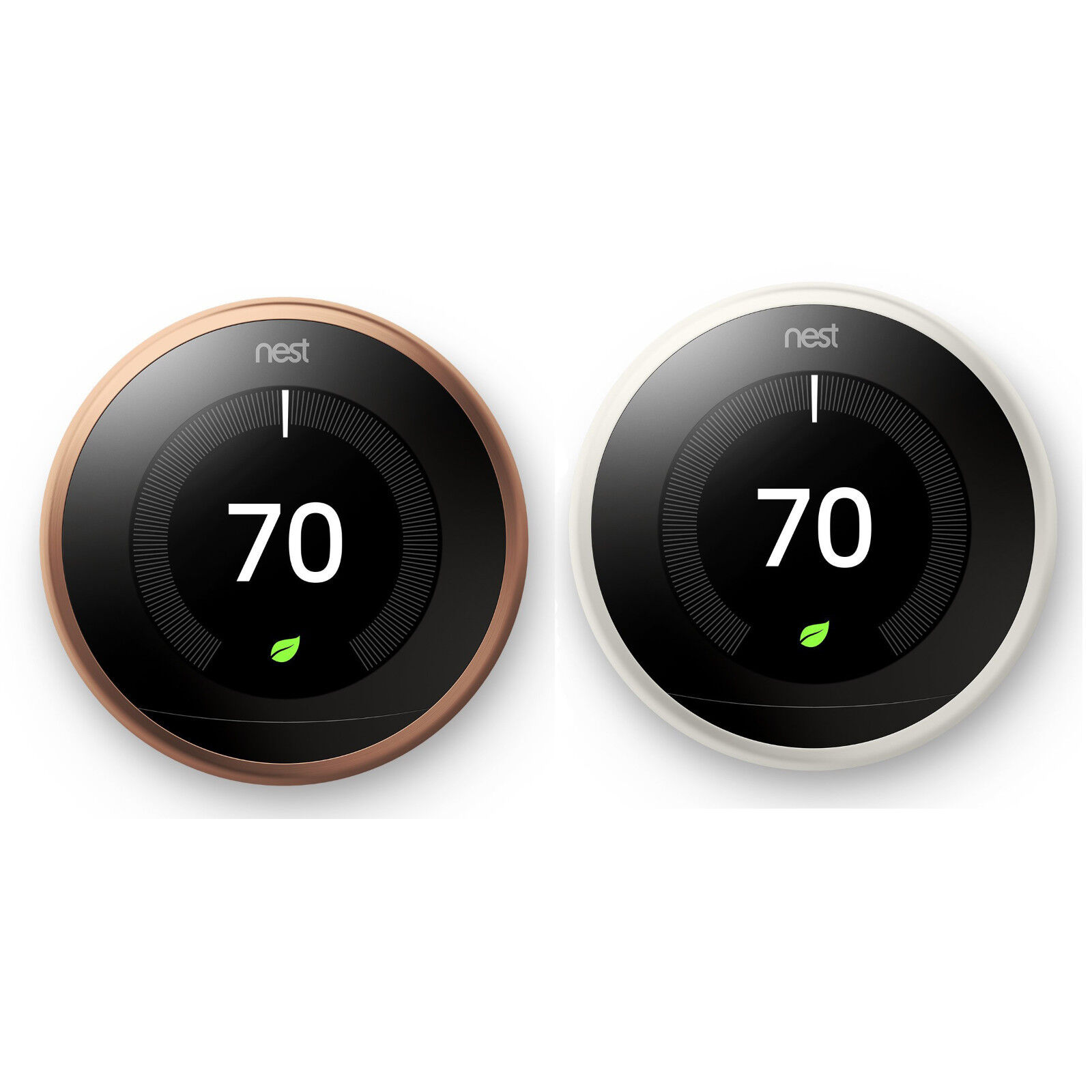 Brand New Nest Learning Smart Thermostat 3rd Generation Works Alexa