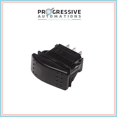 Rocker Switch - Momentary - Led - Waterproof - Dpdt For Linear Actuators