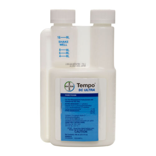 Tempo SC Ultra  ( beta-Cyfluthrin 11.8% ) Bed Bug Ant Roach Spider Wasps Killer