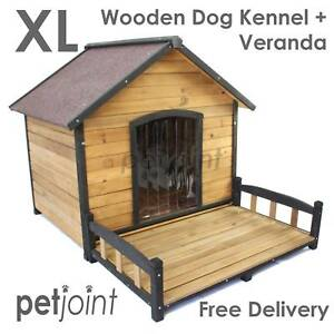 XL Extra Large Dog House Kennel Free Postge Wooden Pet Puppy Home