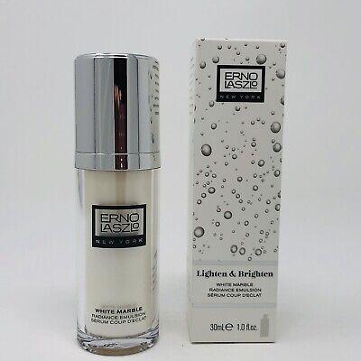 Radiance Emulsion (Erno Laszlo Lighten & Brighten White Marble Radiance Emulsion 1 oz/30 ml NIB)