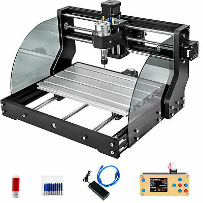 Cnc 3018 Pro Max 10000rpm Woodworking Engraving 3 Axis Rgbloffline Control Us