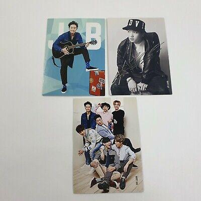 GOT7 Star Collection Card JB photocard 3p set Official Original goods K-POP