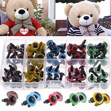 100pcs Plastic Safety Black/Color Eyes Teddy Bear Doll Animal Make Soft Toy DIY