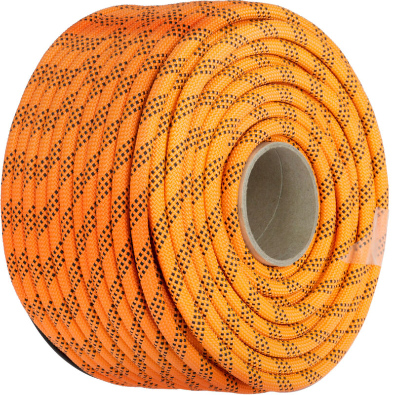"""100FT Double Braid Rope High Strength Abrasion Resistant Climbing 7/16"""" Rigging"""