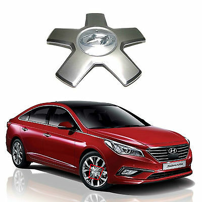 New Genuine OEM Wheel Hub Center Cap Assembly for 15+ Sonata LFSonata