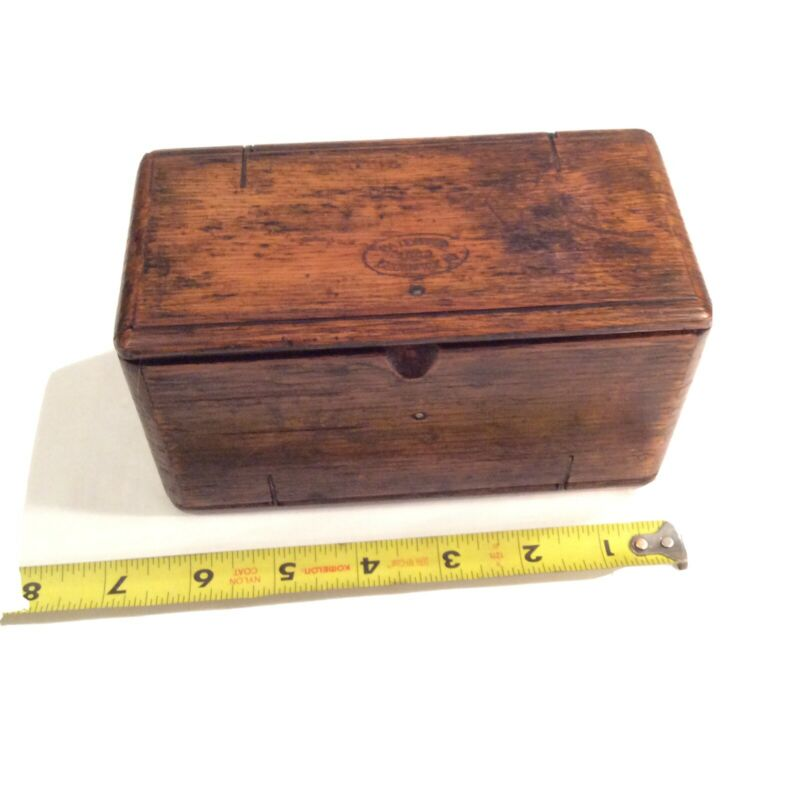 Vintage 1889 Singer Puzzle Box W/ 14 Accessories & 7 Holders, Latches. V/ Nice