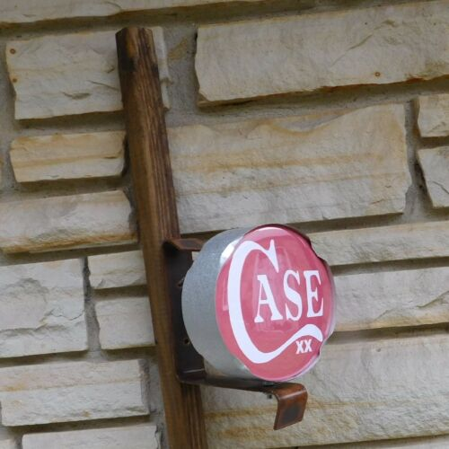 Case xx knife double logo emblem signs miniature wall or post Sign USA made