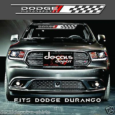 WINDSHIELD BANNER Fits RAM 1500 Avenger Charger Challenger Dart Viper Journey Fits Any Windshield