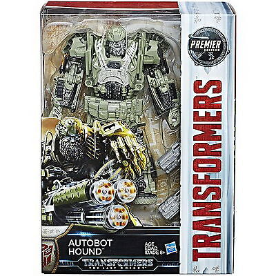 Transformers The Last Knight Premier Voyager Class Wave 2 Autobot Hound Figure