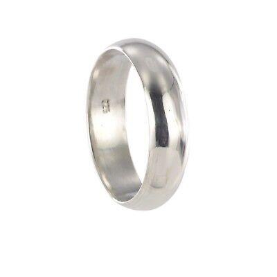 925 Silber Trauring Freundschaftsring mit Gravur 13094