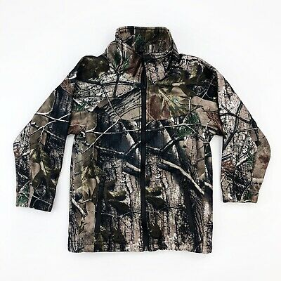 X-Small, Camo Realtree APHD Lucky Bums Kids Soft Shell Jacket,