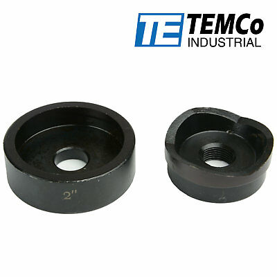 Temco 2 Conduit Punch And Die For Hydraulic Knock Out Driver 34-16 Thread