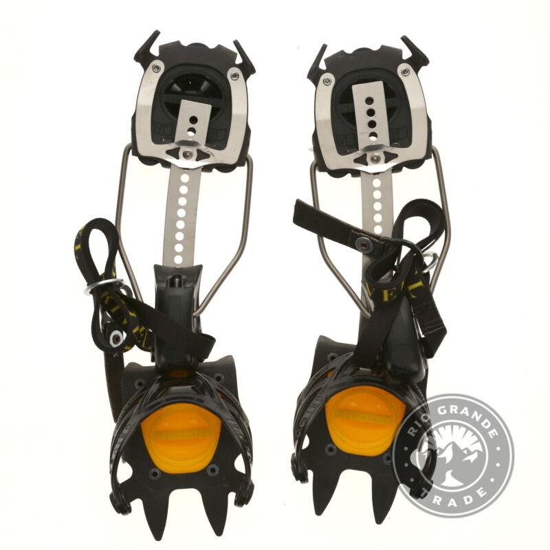 OPEN BOX Grivel Climbing G1 Crampon 190mm in Black - 5.5-10 US / 36-44 EU