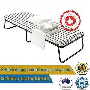 Single Size Portable Deluxe Folding Camping Bed and Mattress Outd Paddington Eastern Suburbs Preview