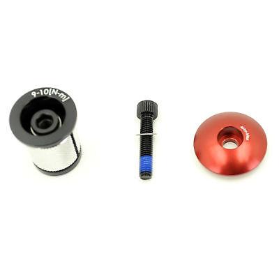 Bikelangelo 1 1//8 Headset Top Cap Lightning Bolt