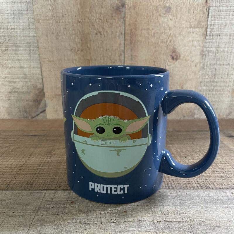 Star Wars Grogu The Child Protect Attack Snack Mug 20 oz