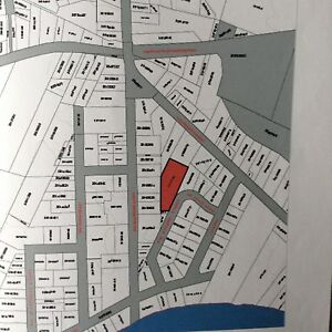 One acre Building lot right in town of Tracadie NB