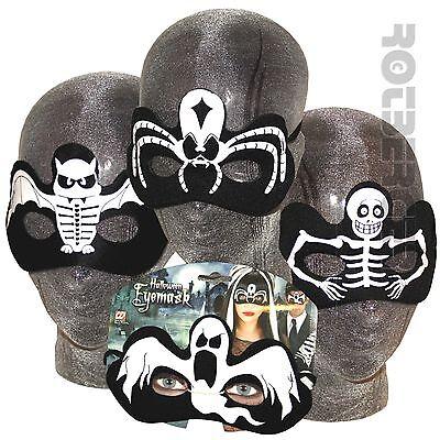 ke schwarz Geist Spinne Skelett Fledermaus Halloween  (Halloween Spinne Auge)