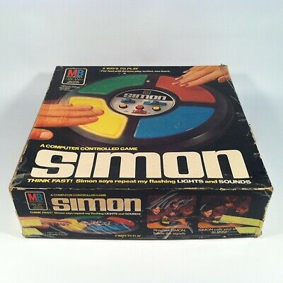 Vintage Simon Says Electronic Game in Box