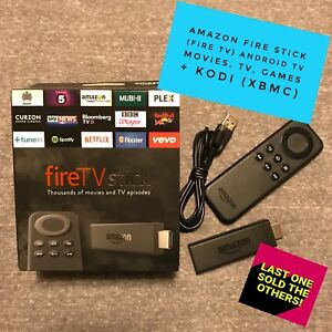 Amazon Fire Stick FIRE TV Android Movies TV Games KODI XBMC SPMC