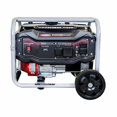 Simpson Spg3645 3600 Watt 224cc Start Portable Heavy Duty Generator Series