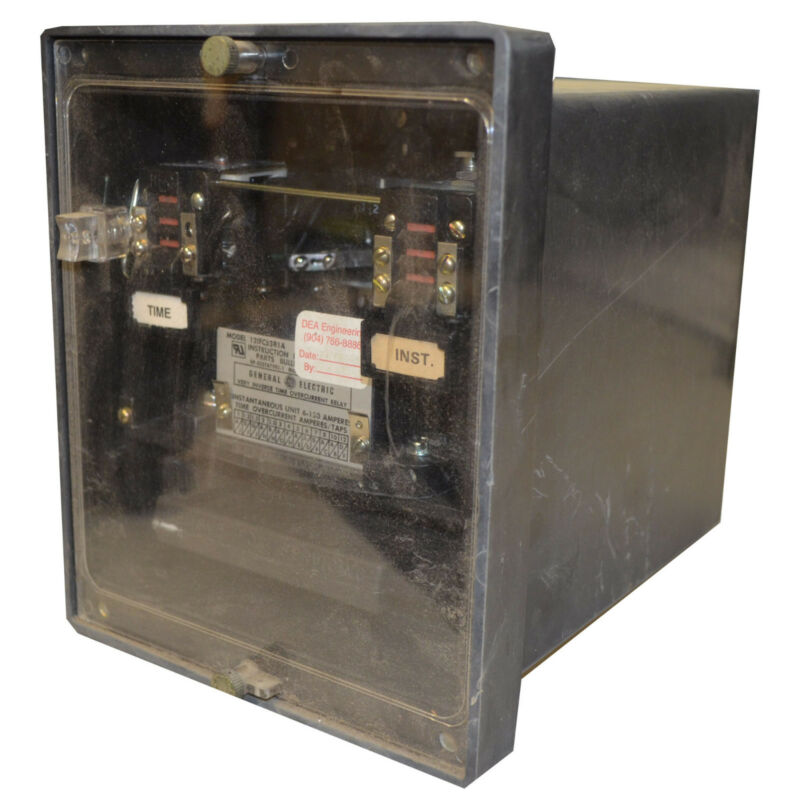 GENERAL ELECTRIC 12IFC53B2A TYPE OVERCURRENT RELAY--SESG