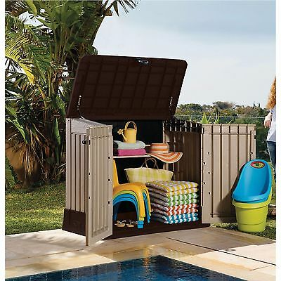 Outdoor Storage Cabinet Shed Patio Furniture Garden Tool Utility Backyard Garage
