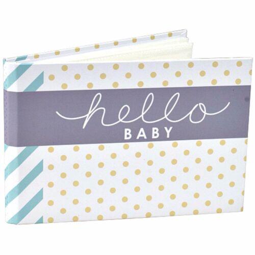 """Hello Baby Brag Book Photo Album Holds 40 Pictures 4x6"""" Malden Designs"""