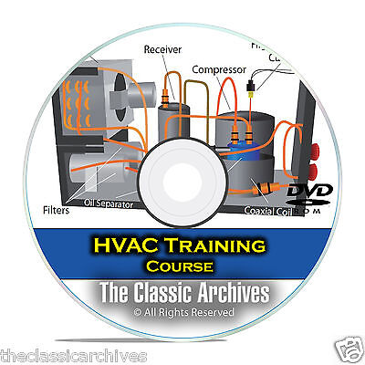 HVAC Journeyman Training Course, Heating Air Conditioning Technician DVD E97