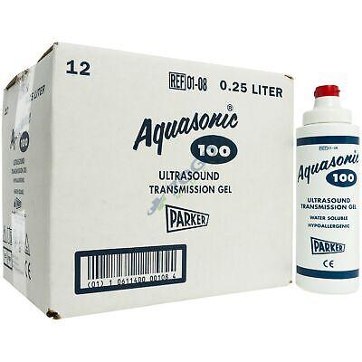 Aquasonic 100 Ultrasound Gel - 8.5 Ounce Tube - Box Of 12