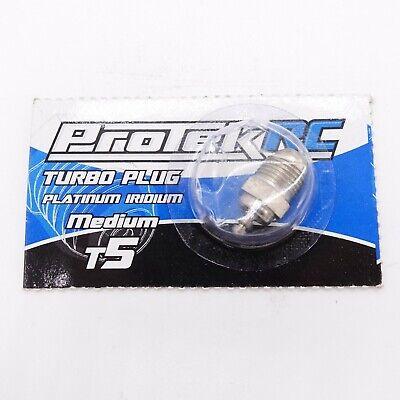 PTK-2552 ProTek RC T5 Medium Turbo Glow Plug (.12 and .21 Engines) Engine Turbo Plug