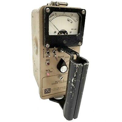 Ludlum Model 5 Radiation Detector Geiger Counter