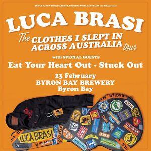 2 x Luca Brasi tickets - Byron Bay Feb 23