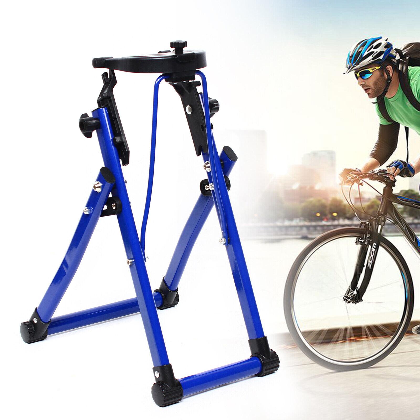 "24/"" 26/"" 28/"" Foldable Bike Wheel Truing Stand Bicycle Wheel Maintenance UK B6M2"