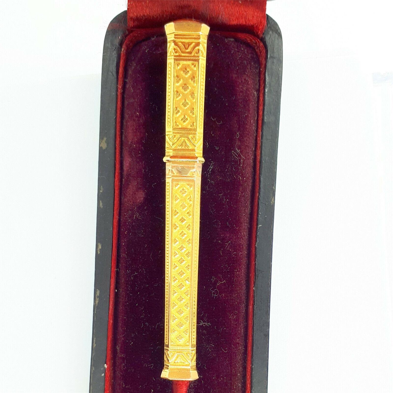 Antikes Nadeletui Gold 750