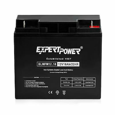 ExpertPower 12Volt 18Amp SLA Universal Deep Cycle Battery replaces 20Ah 22Ah