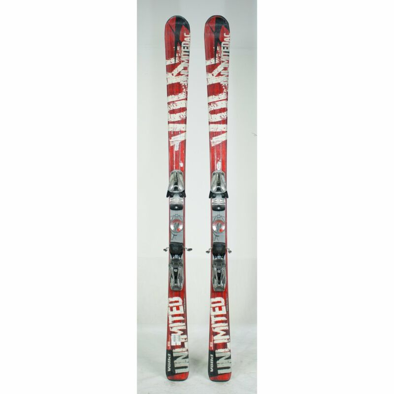 USED Volkl Unlimited AC Skis With Marker Bindings 149cm 156cm 163cm 170cm 177cm