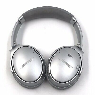 Bose QuietComfort 35 Series II Silver Wireless Noise Cancelling Headphones