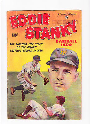 Eddie Stanky  :: 1951 ::  :: Life Story Of the Giants' Battling Second Sacker ::