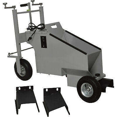 Photo Klutch Electric Walk-Behind Concrete Curb Machine -5.8in. Working Width, 3/4 HP