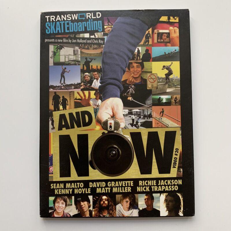 2008 Transworld Skateboarding And Now Skate Video #20 Skateboard DVD
