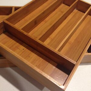 Bamboo Cutlery Tray x2 Palmwoods Maroochydore Area Preview