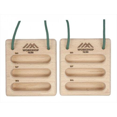 Portable-Training-Board-Hangboard-Climbing-Grips-Finger-Board-GoBoard- 2PIECES