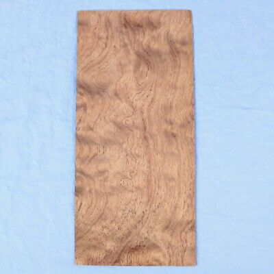 Bubinga Waterfall - 2 Bookmatched Wood Veneer Sheets -4.75 X 10.75 -no Backing